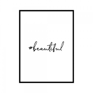 Beautiful - plakat
