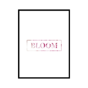 Bloom - plakat
