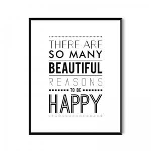 Be Happy - plakat