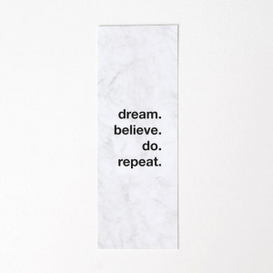 Zakładka Dream Believe Do Repeat