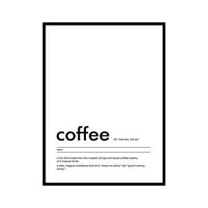Coffee - plakat