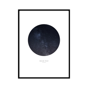 Milky way - plakat
