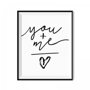 You and me - plakat